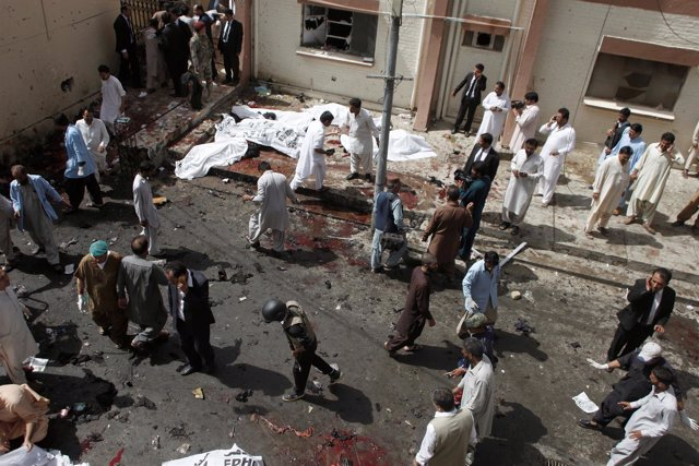 Atentado contra el hospital civil de Quetta, en Baluchistán