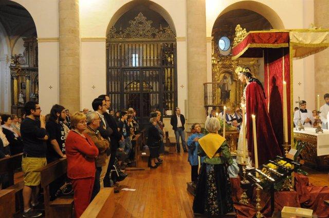 Tríduo de la Virgen de la Saleta.