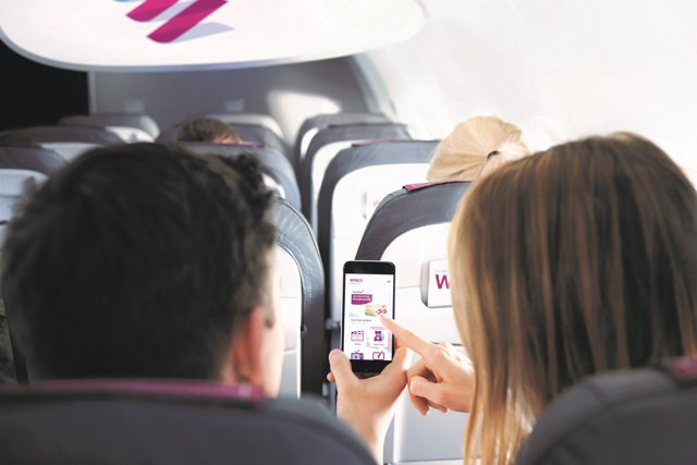 Nuevo sistema de entretenimiento a bordo de Eurowings