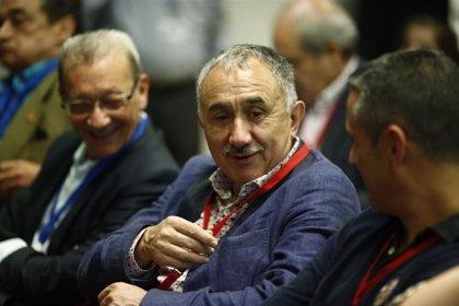 Álvarez (UGT) insta a recuperar la negociación en la Administración y subidas salariales