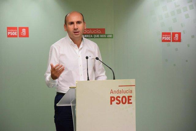 PSOE De Andalucía: Nota, Audios Y Fotografía Francisco Conejo Málaga 080816