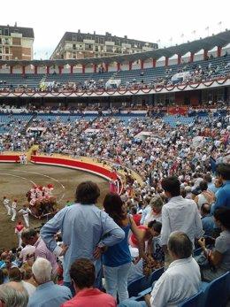 Fotografía de archivo (plaza de toros de Albacete)