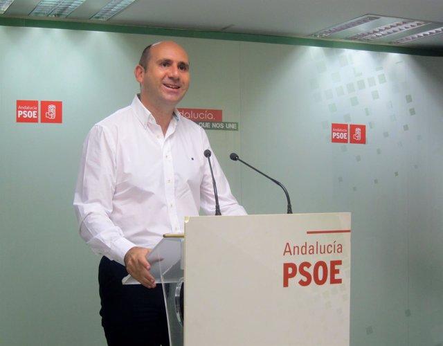 El secretario de Política Insitucional del PSOE-A, Francisco Conejo,
