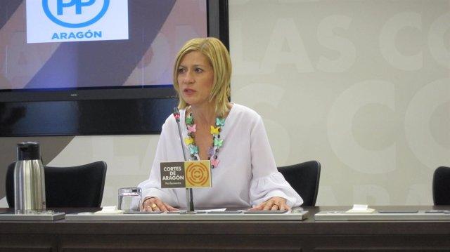 La diputada del PP, Marta Vaquero