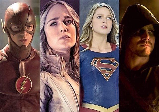 Crossover entre The Flash, Legends of Tomorrow, Supergirl y Arrow