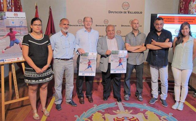 Presentación de la programación del XV torneo de Tenis de la Diputación