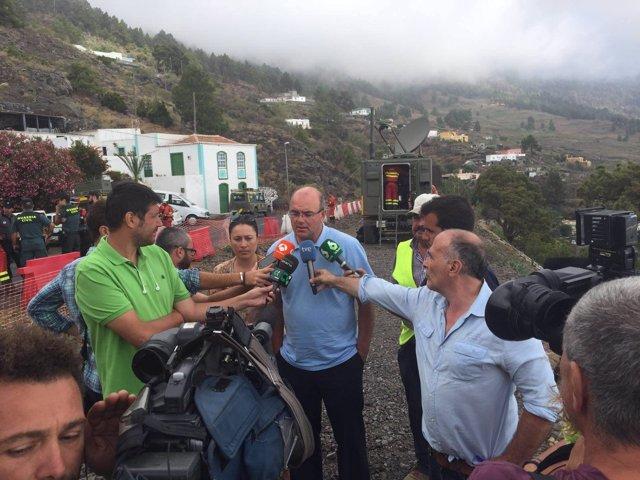 Rueda de prensa del presidente del Cabildo de La Palma