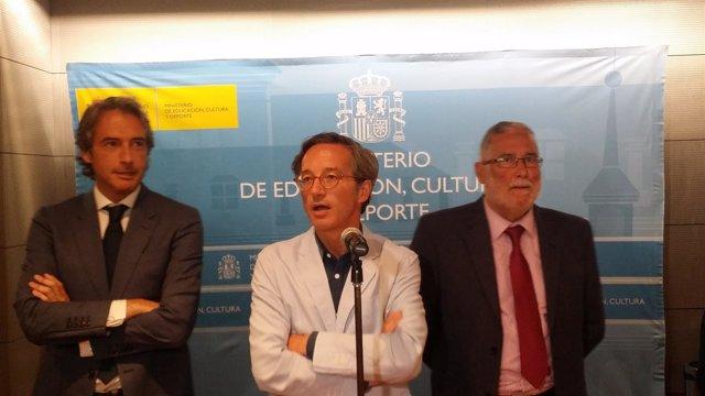 Iñigo de la Serna, José María Lasalle y Ramón Ruiz