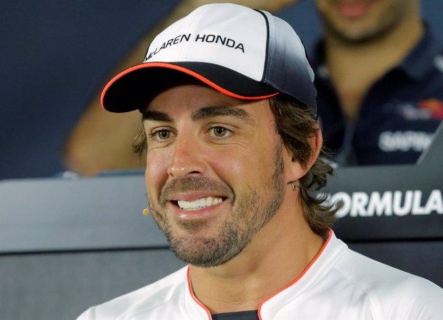 El piloto español de Fórmula 1 Fernando Alonso