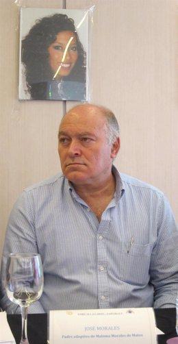Pepe Morales, padre adoptivo de Maloma