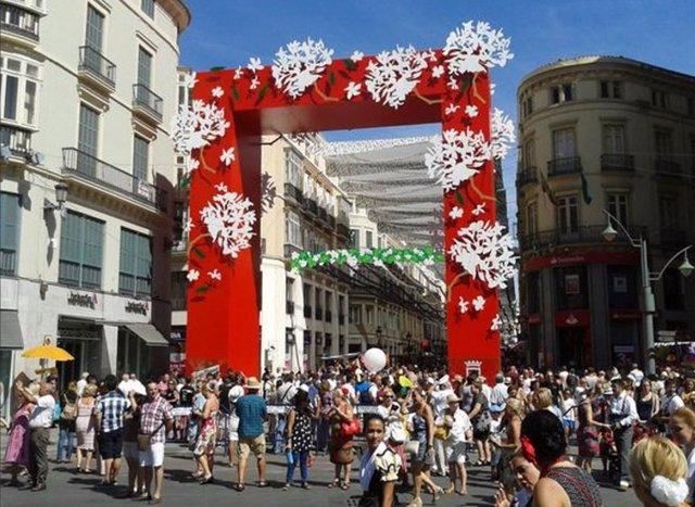 Feria de Málaga portada centro 2015