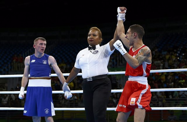 Samuel Carmona Patrick Barnes boxeo Juegos Olímpicos Río