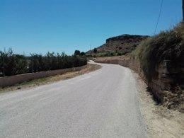 Camino de San Antonio, en Alcañiz (Teruel)