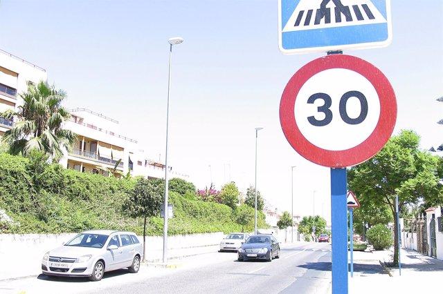 Imagen de la calle Ciáurriz de Mairena.