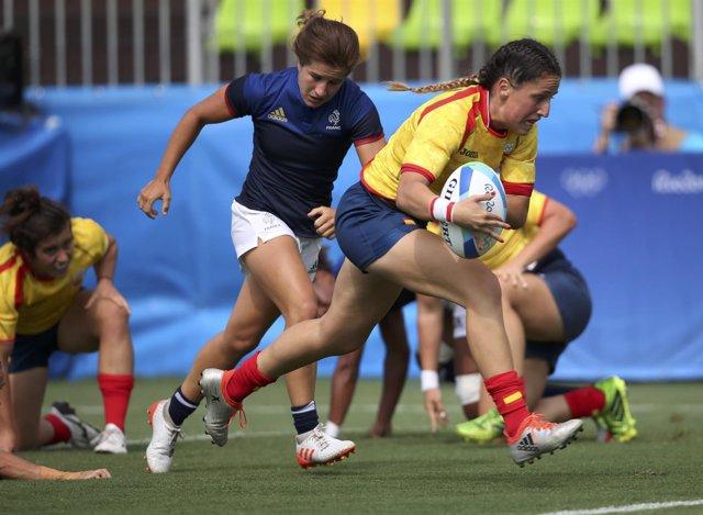 Las leonas pierden con Francia en rugby a 7 en los Juegos Olímpicos