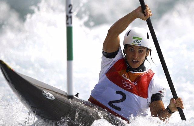 Maialen Chourraut aguas bravas K1 Juegos Olímpicos Río