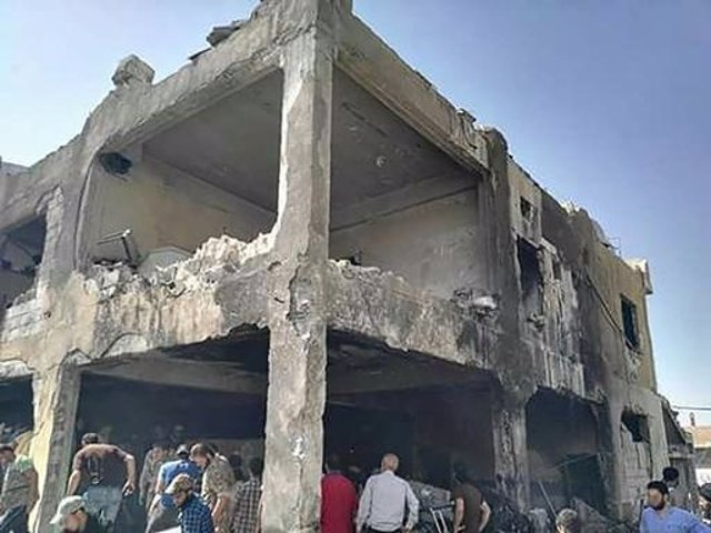 Hospital de MSF atacado en Idleb