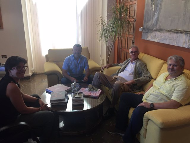 El alcalde de Sagunto se reúne con representantes de Thyssenkrupp Galmed