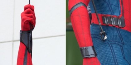 Spiderman Homecoming: Así son los lanzatelarañas del traje de Peter Parker