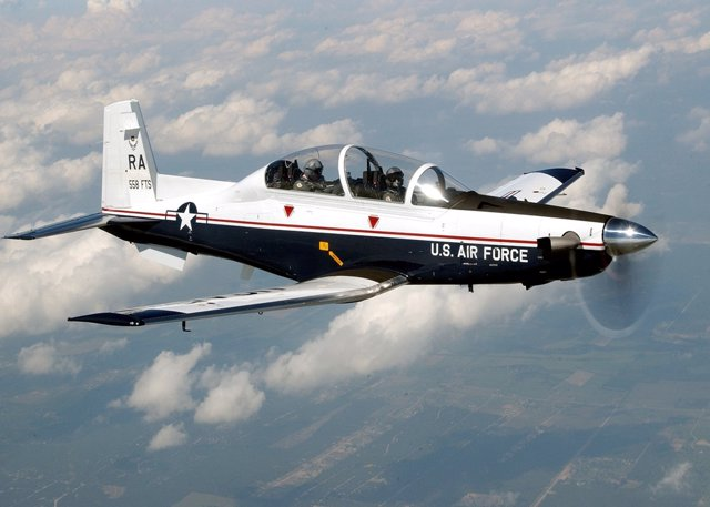 RANDOLPH AIR FORCE BASE, Texas -- The T-6A Texan II is phasing out the aging T-3
