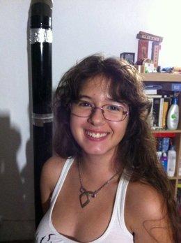 Imagen de la menor desaparecida, Gabriela Rodríguez  Albano