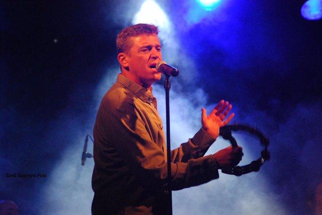 El cantante Javier Ojeda