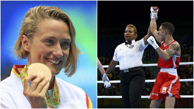 Mireia Belmonte Samuel Carmona Juegos Olímpicos Río