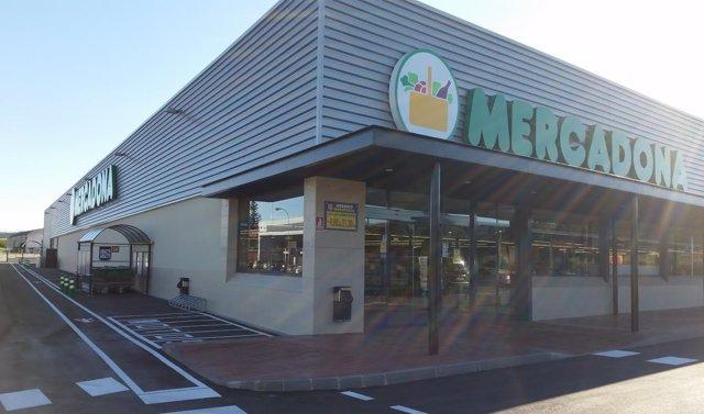 Supermercado de Mercadona en Tafalla
