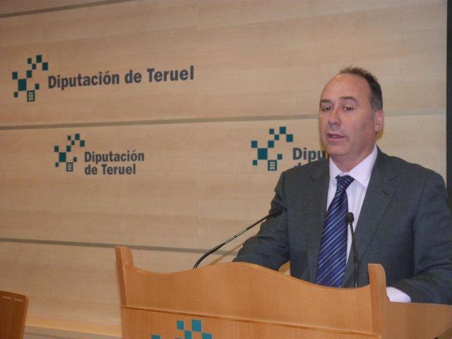 El diputado Miguel Iranzo