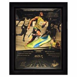 Bota Usain Bolt subasta Catawiki