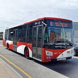 Autobús urbano en Gijón