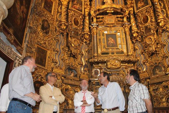 Visita a San Luis de los Franceses.