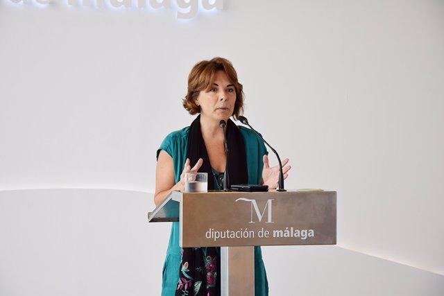 Diputada provincial socialista Eva Rodríguez