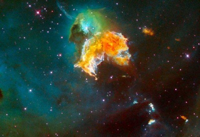 Hallan restos de una antigua supernova en el fondo del Pacífico