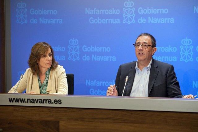 La consejera Ana Herrero y Félix Palomero