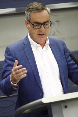 Rueda de prensa de José Manuel Villegas, vicesecratrio general de Ciudadanos