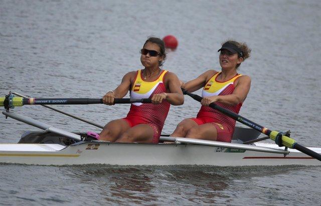 Anna Boada y Aina Cid remo dos sin timonel Juegos Olímpicos Río