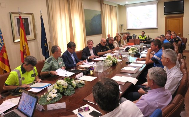 Junta de Seguridad celebrada en Alicante