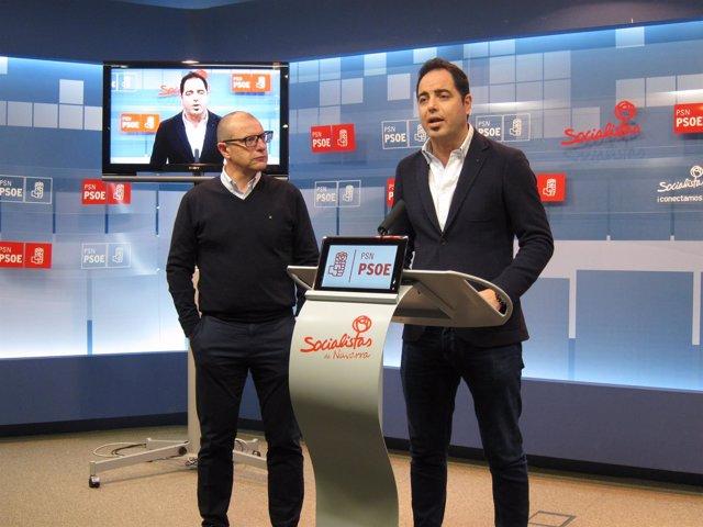 Carlos Gimeno y Ramón Alzórriz.