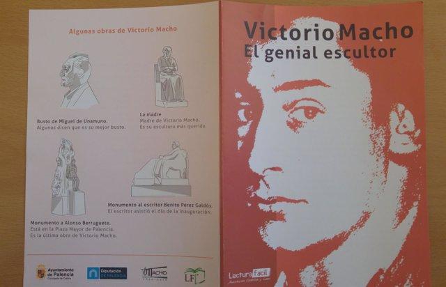 El escultor Victorio Macho.