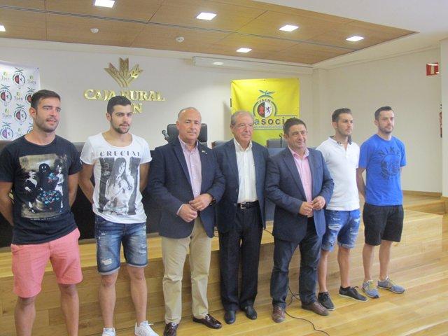 Presentación de los fichajes del Jaén Paraíso Interior Fútbol Sala.