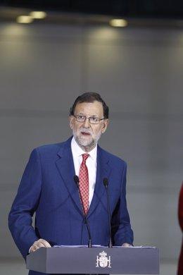 Rajoy en la inauguración de la sede de la Gerencia de la Seguridad Social