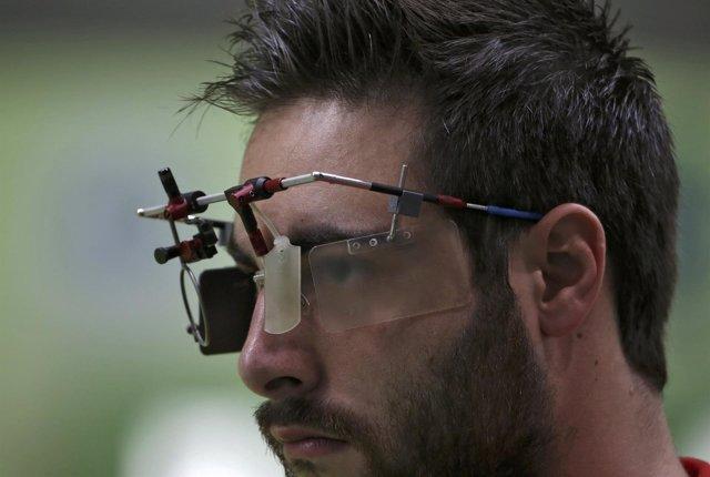 Pablo Carrera en los Juegos Olímpicos de Río