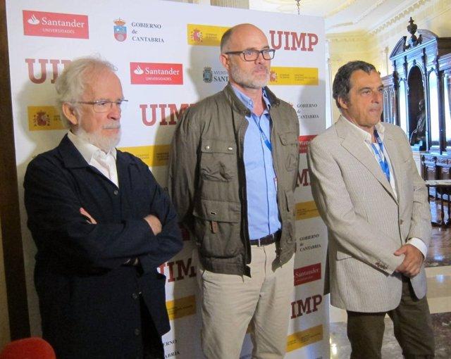 Forges, Gallego y Puebla en la UIMP