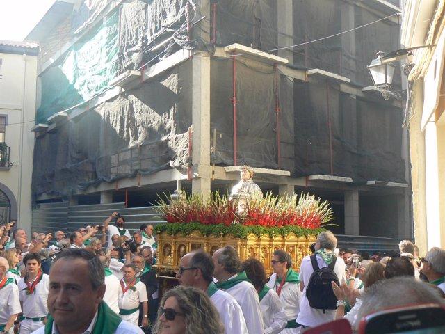Procesión de San Lorenzo