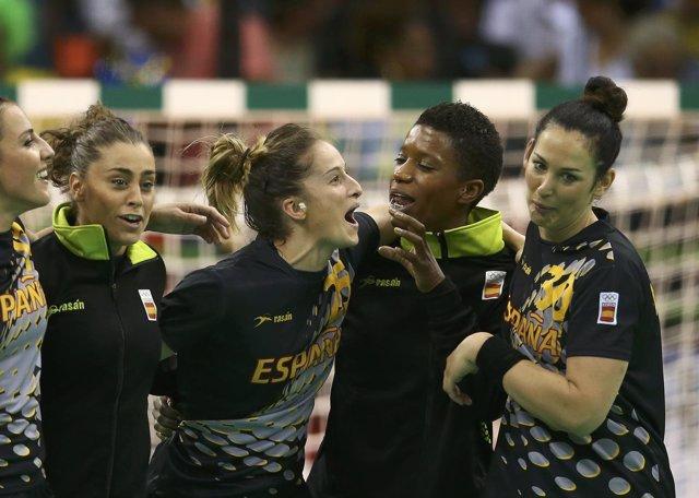 Nerea Pena selección española balonmano femenino Juegos Olímpicos Río