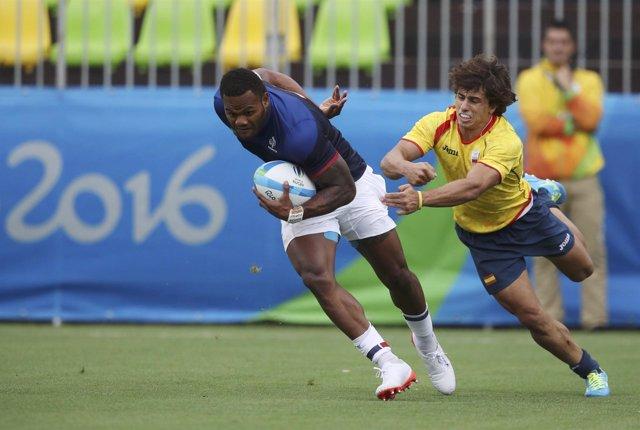 Selección española rugby 7 siete Francia Juegos Olímpicos Río