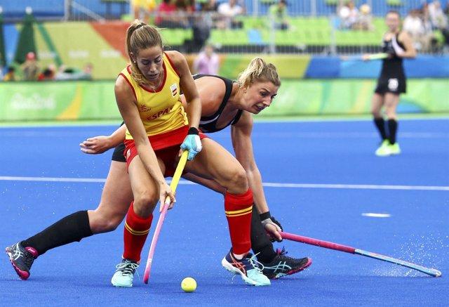 Selección española hockey femenino Nueva Zelanda Juegos Olímpicos Río