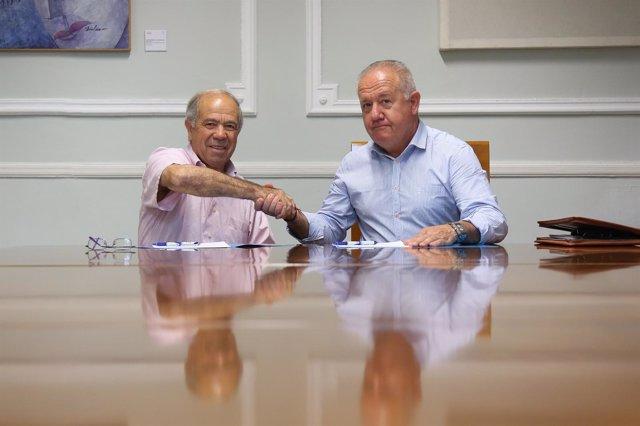 Sebastián Cañadas y José Bernabeu