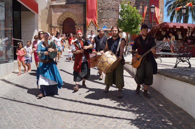 Imagen de las jornadas medievales de Cortegana (Huelva)